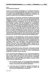 § 38a Unterstützte Beschäftigung (1) Ziel der Unterstützten ...