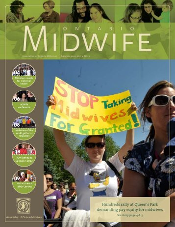 Summer 2011 - Association of Ontario Midwives