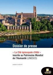 Dossier de presse - Albi