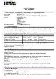 Arbo Primer 925 MSDS