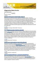 Allgemeine-News Archiv