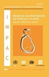 Manejo de las complicaciones del embarazo y el parto - libdoc.who.int