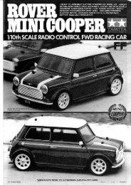 Tamiya M-01 Rover Mini Manual - Wheelsacademy.info