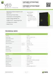 V4PF480Y/277VSYTK02 V4PF480Y/277VSYTK02P ... - Tele Haase
