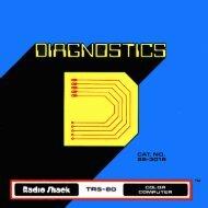 Diagnostics (Tandy).pdf - TRS-80 Color Computer Archive