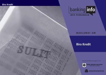 Muat turun buku panduan biro kredit - Banking Info