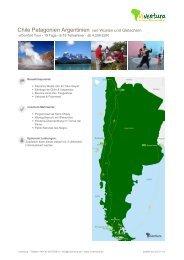 Chile Patagonien Argentinien von Wüsten und Gletschern - Viventura