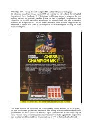 09-1978 [C-1001] Novag - Chess Champion MK I (A) (with Spassky ...