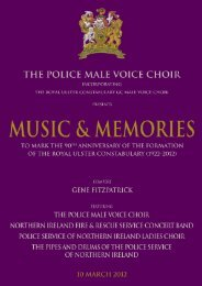 northern ireland fire & rescue service concert band