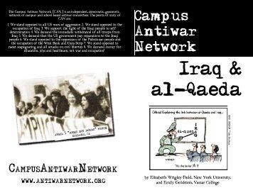 iraq & al-qaeda - Campus Activism