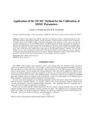 Application of the MCMC Method for the Calibration of DSMC ...