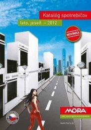 Katalóg spotrebičov - MORA