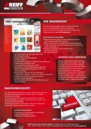 Infoblatt E-Business - Roller Belgium