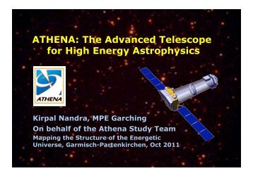 ATHENA: The Advanced Telescope for High Energy Astrophysics