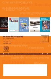 UNITED NATIONS PUBLICATIONS - Renouf Books