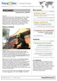 PECHINO - SaltaSullaVita.com