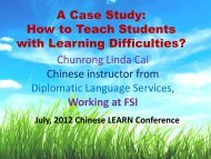 A Case Study: How to Teach Students with Learning Difficulties?