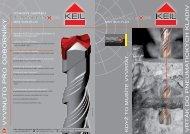 Leták Turbohead Xpro Keil - Cominvest CZ