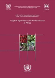Organic Agriculture and Food Security in Africa - Unctad