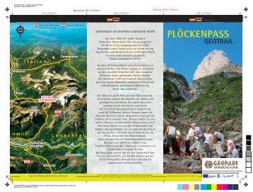 PLÖCKENPASS - Geopark Karnische Alpen