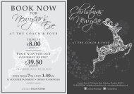 Coach-Four-Christmas-New-Year-Menu-2014