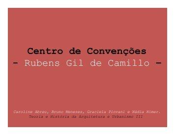 Centro de Convencoes Rubens Gil de Camilo - Histeo.dec.ufms.br