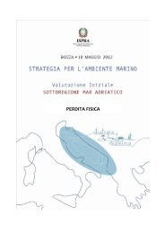 5.1 Mar Adriatico - La strategia marina - Ispra
