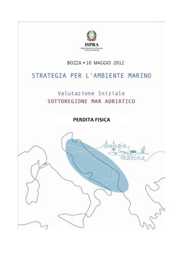 5.1 Mar Adriatico - La strategia marina - Ispra
