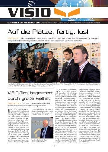 Auf die Plätze, fertig, los! - VISIO-Tirol