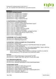 Protokoll fra landsstyremøte 2-10/11 - Norsk studentorganisasjon