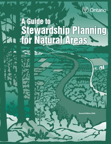 A Guide to Stewardship Planning for Natural Areas - Communities ...