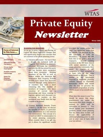 Newsletter - WTAS