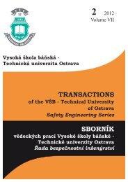 Transactions - FBI - Vysoká škola báňská - Technická univerzita ...