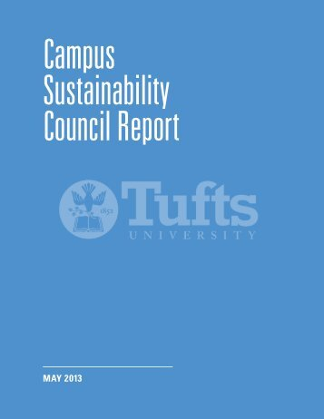 Report - Tufts Office of Sustainability - Tufts University