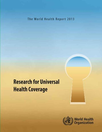 Research for Universal Health Coverage - World Health Organization