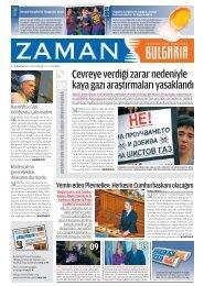 Sayı 4, 23 - 29 Ocak 2012 - Zaman Bulgaristan
