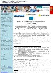 Se program - Welfare Tech