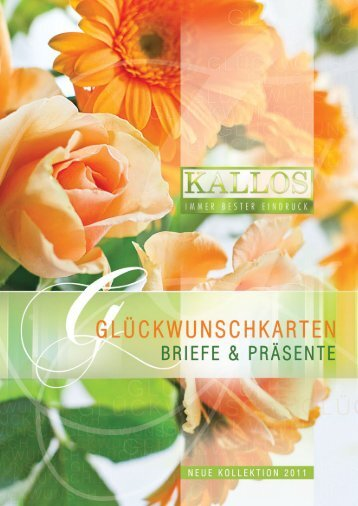 Glückwunschkarten - ein Fest für die Sinne! - Kallos Verlag und ...