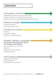 Sommaire - e-Catalogue - Schneider Electric