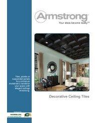 Decorative Ceiling Tiles - Goodfellow Inc.