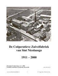 St. Nicolaasga - Zuivelhistorie Nederland