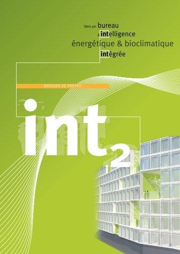Dossier de presse - Fondation Bâtiment Energie