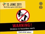 WDACL 2011, Warning! Children in hazardous work (slides) - Food ...