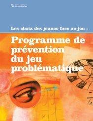 Introduction - ProblemGambling.ca