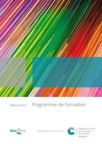 Voir le PDF - Fédération des Entreprises Romandes
