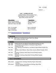 Date: 8/14/2008 Signature: ____ LUIS C. AFONSO. MD. FACC ...