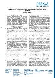 Verkaufs- und Lieferbedingungen der PRAKLA Bohrtechnik GmbH ...