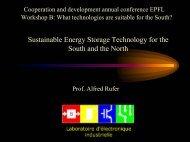 Aucun titre de diapositive - Cooperation at EPFL