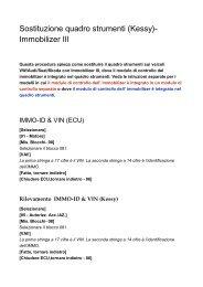 Sostituzione quadro strumenti _Kessy_ ... - Auto Consulting