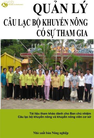 A Hoạt động Câu lạc bộ khuyến nông - VVOB